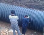 PE排水管施工