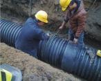 HDPE双壁波纹管工程