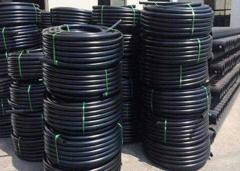 PE穿线管生产