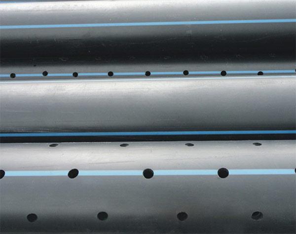 青海PE打孔渗水管生产